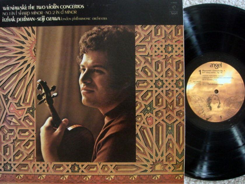 EMI Angel / PERLMAN-OZAWA, - Wieniawski Violin Concertos No.1 & 2,  NM!