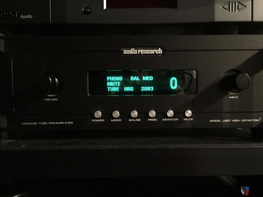 Audio Research LS-27 Black