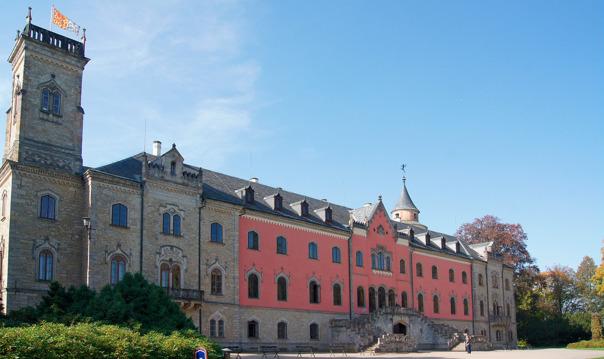 Замок Сихров и завод «Гранат Турнов»