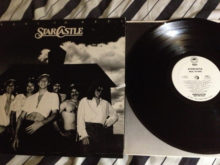 Starcastle - Real To Reel White Label Promo LP NM