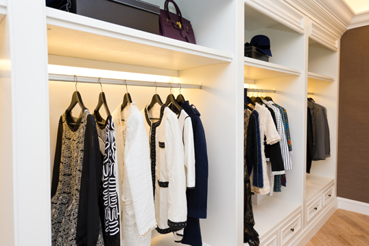 Trento - How closet lighting can really brighten your day