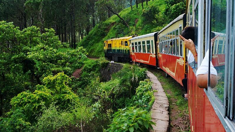 Toy Train of Shimla, India