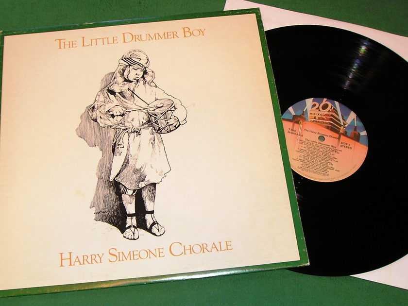 HARRY SIMONE CHORALE - The LITTLE DRUMMER BOY - * 1978 20th CENTURY RECORDS * NM 9/10