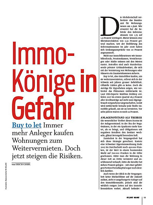 Zug - Interview mit Thomas Frigo zum Thema Buy to let