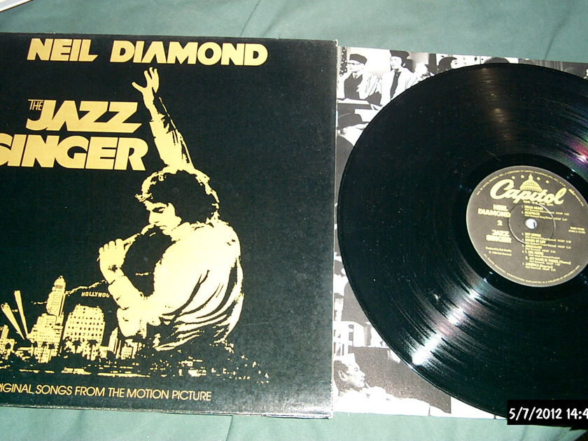Neil Diamond - The Jazz Singer LP NM Gatefold Cover