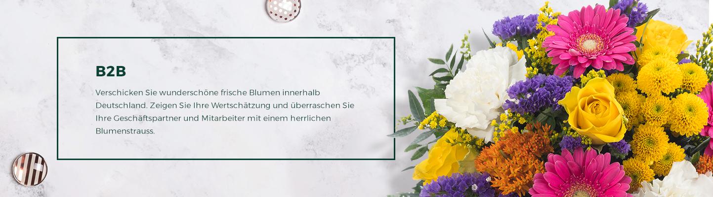 Verschicken Sie wunderschöne frische Blumen innerhalb Deutschland.