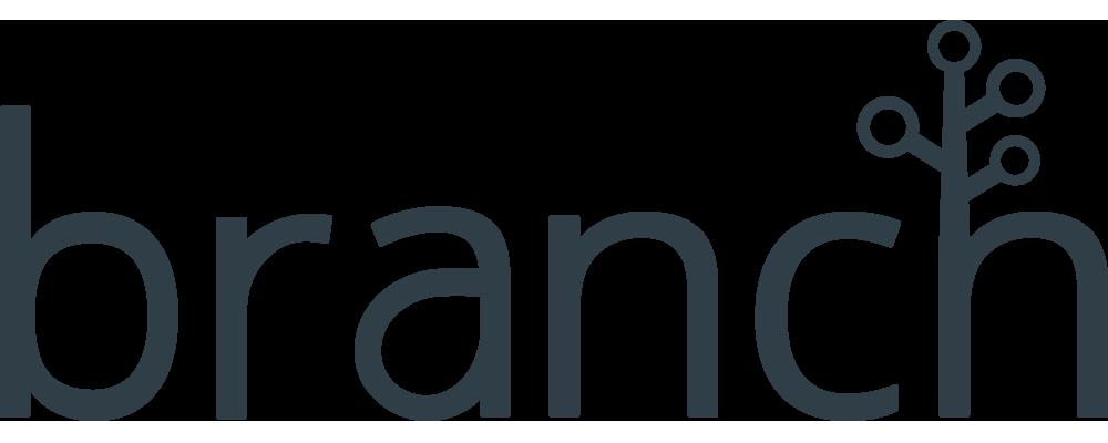Branch logo bw dark