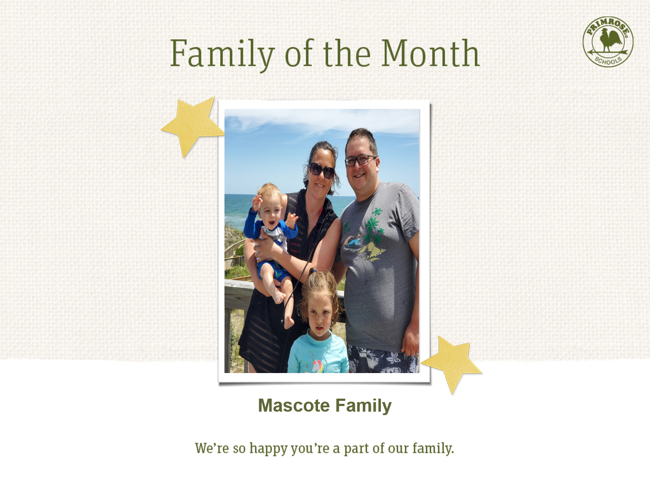 Primrose family of month - July month