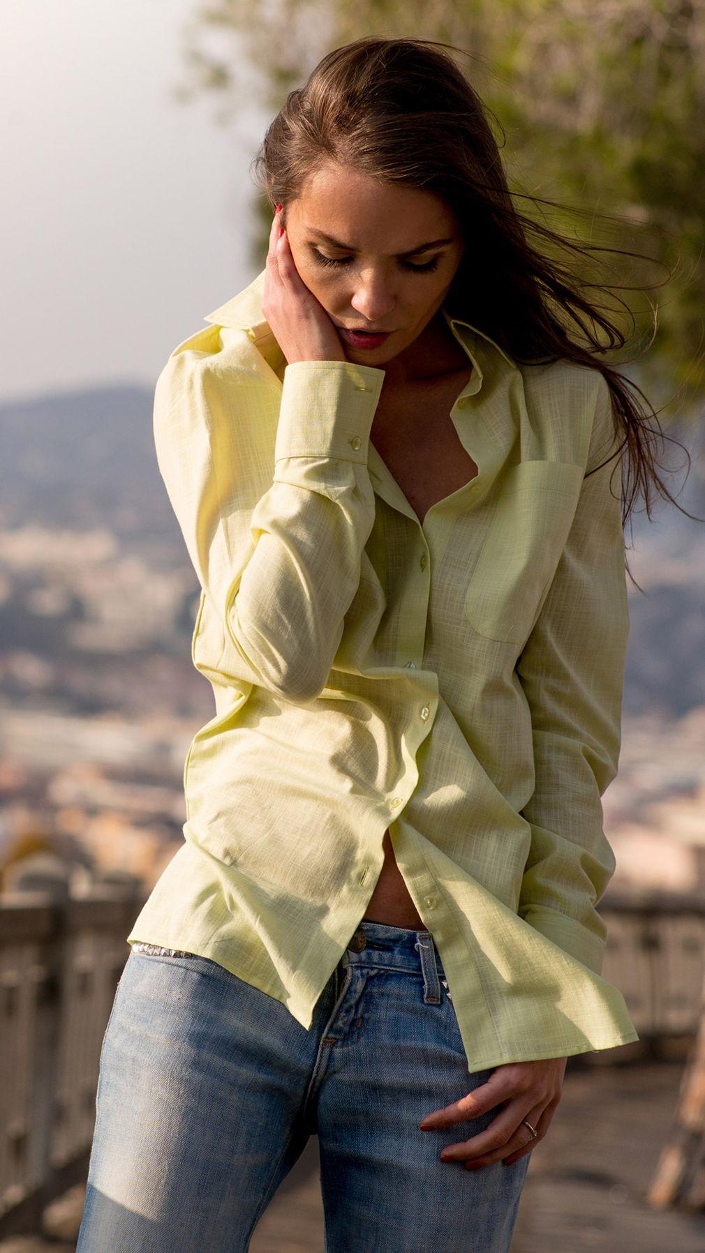Лимонная сорочка