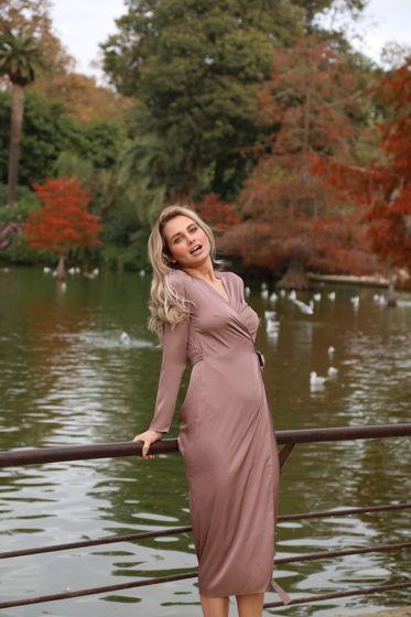 Шелковое платье Paris (Zefir)