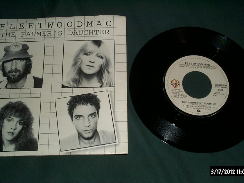Fleetwood Mac - The Farmer's Daughter First Pressing 45 With Sleeve