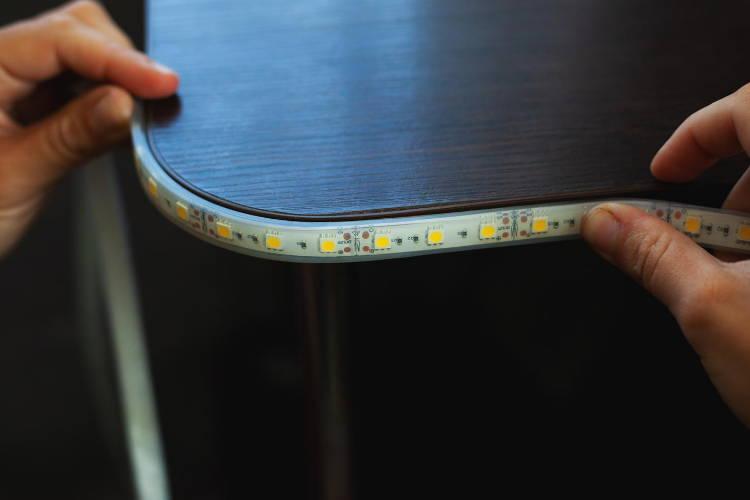 led light strips 50 ft, color changing led strip lights, multi color led tape light
