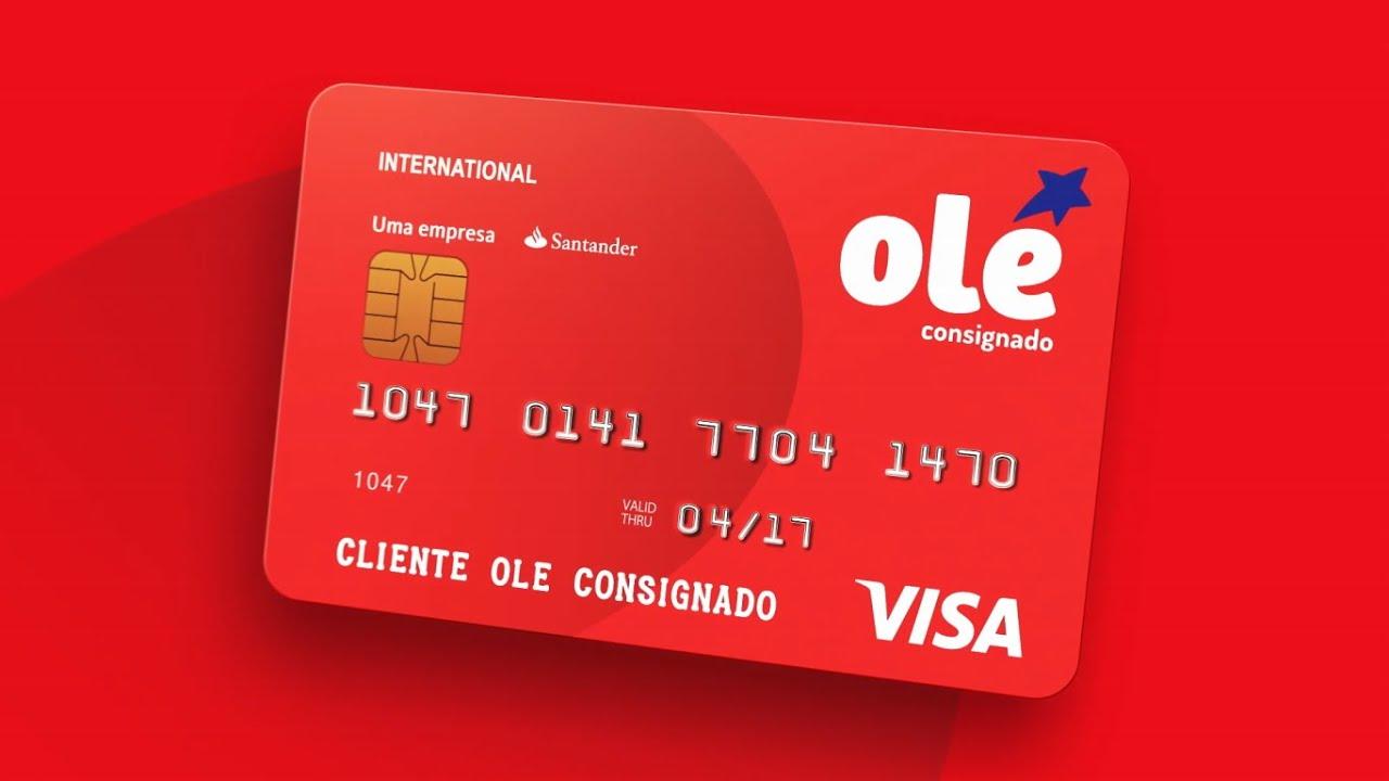 Quais as vantagens do cartão consignado Olé