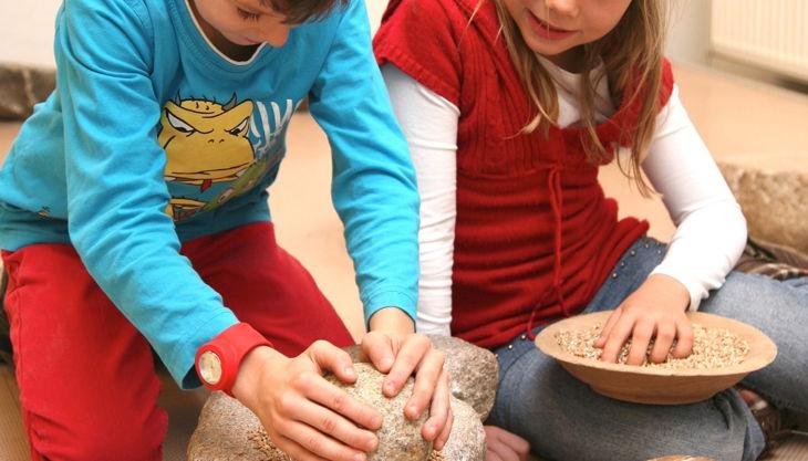 archäologisches museum hamburg bauerbrot nach steinzeitart