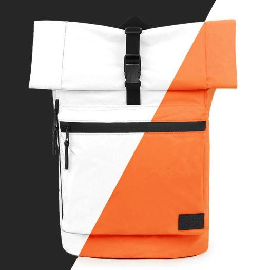 Рюкзак роллтоп светоотражающий GOOD LOCAL Rolltop Reflective W/Zip Orange