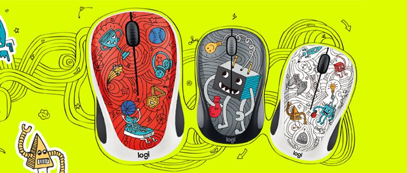 Pörögj fel az új Logitech 2017 Doodle kollekcióval!