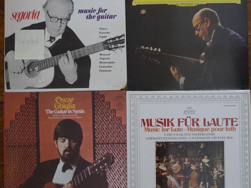 Guitar LP Records All M/NM, 33 LP Records