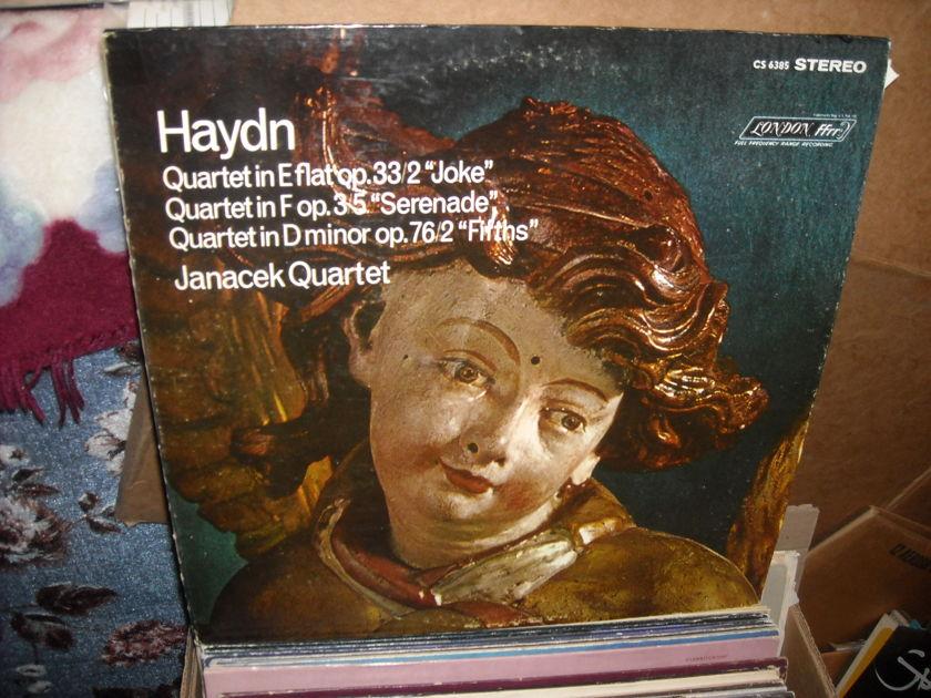 (lec) Haydn - Quartet music London FFrr LP (c)