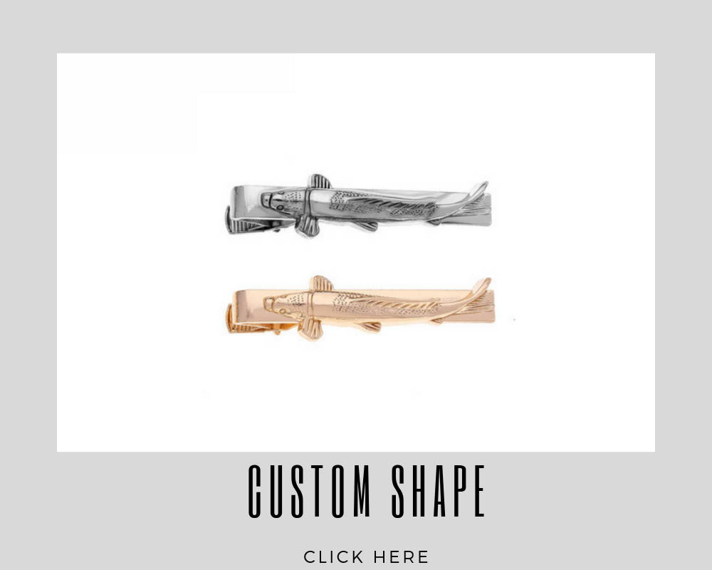 Custom Corporate Custom Shape Tie Bar