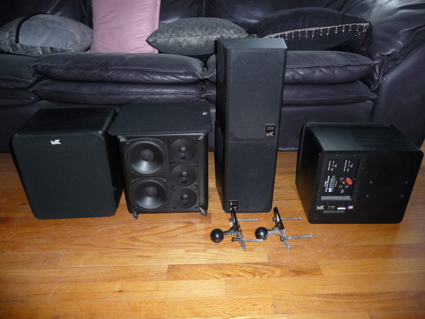 M&K 5.1 Speaker system S-100b, Mx150, ss150thx