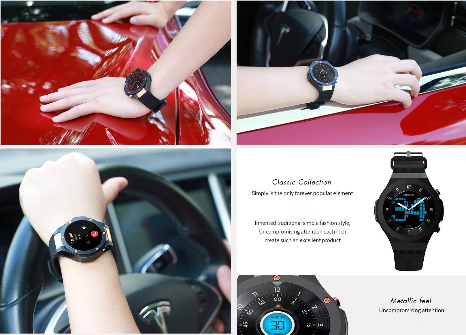 Neuclo Core H2 Smartwatch