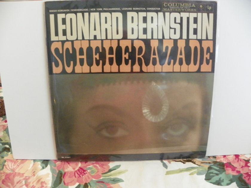 LEONARD BERNSTEIN/NEW YORK PHILHARMONIC - SCHEHERAZADE