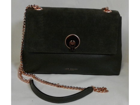 Ted Baker Suede/Leather Crossbody