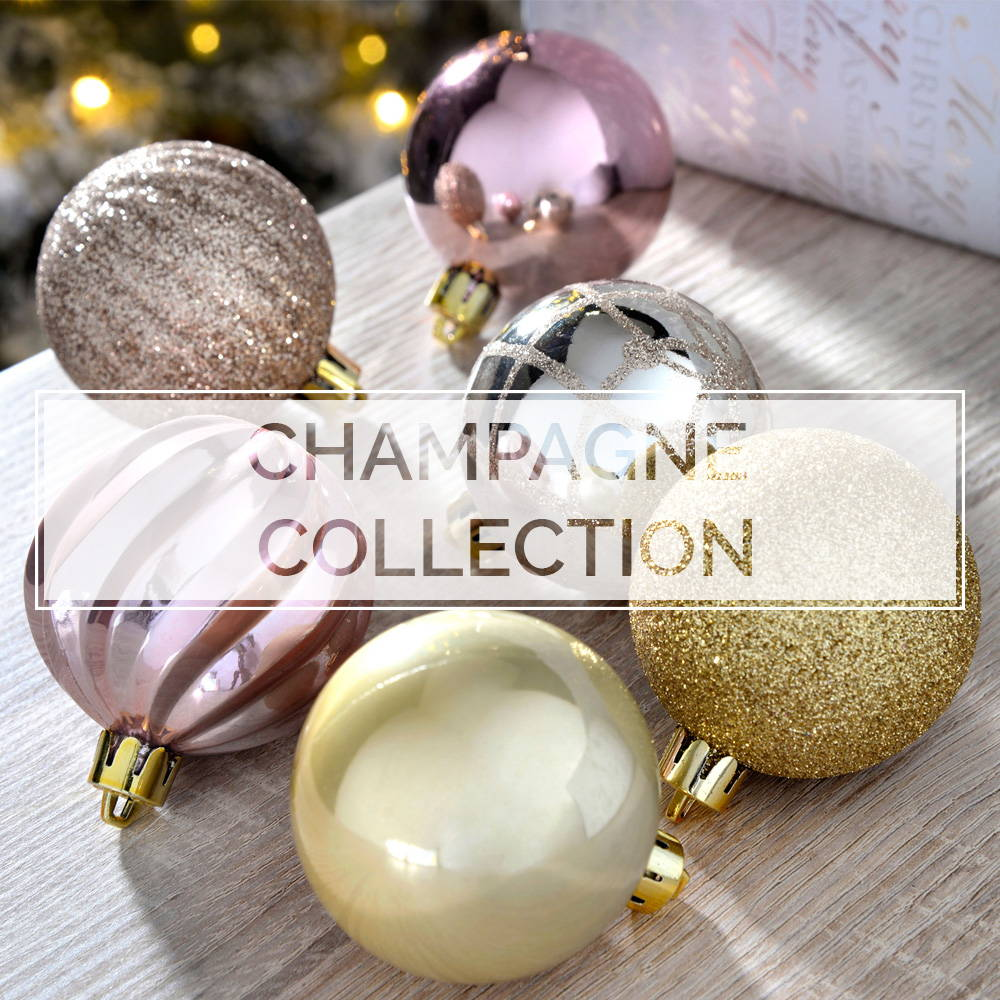 Champagne Baubles