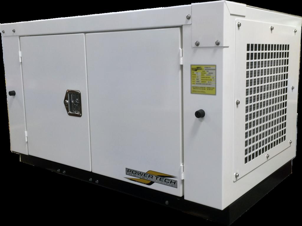 Quiet Gas Generator