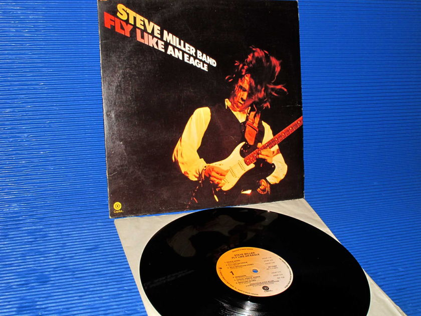 "STEVE MILLER BAND   - ""Fly Like An Eagle"" -  Capitol 1976"