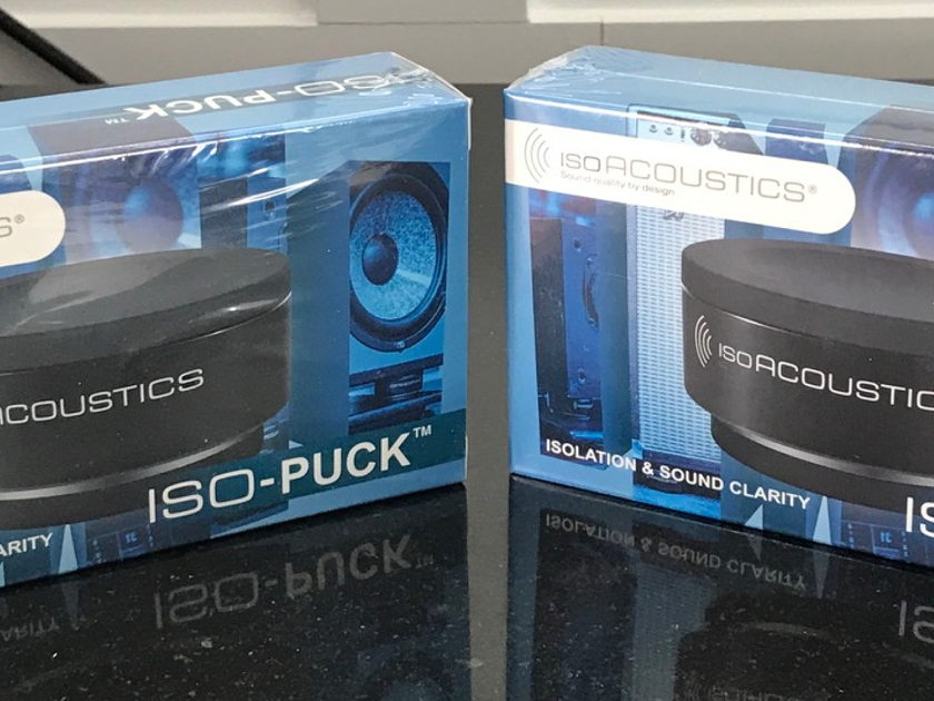 IsoAcoustics ISO-PUCK New, set of 4, for speaker or amplifier