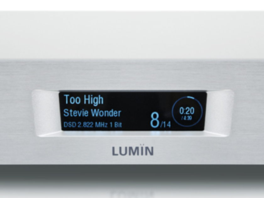 Lumin M1 Integrated Amplifier Music Player Near Mint Includes Paypal and Shipping
