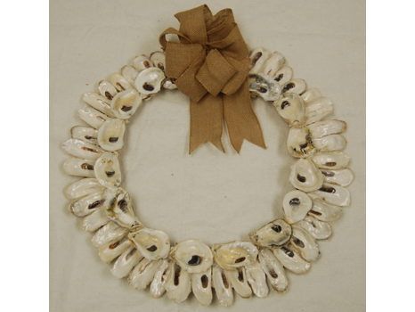 Oyster Obsession Wreath