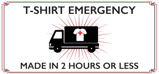 T-Shirt Deli Emergency T