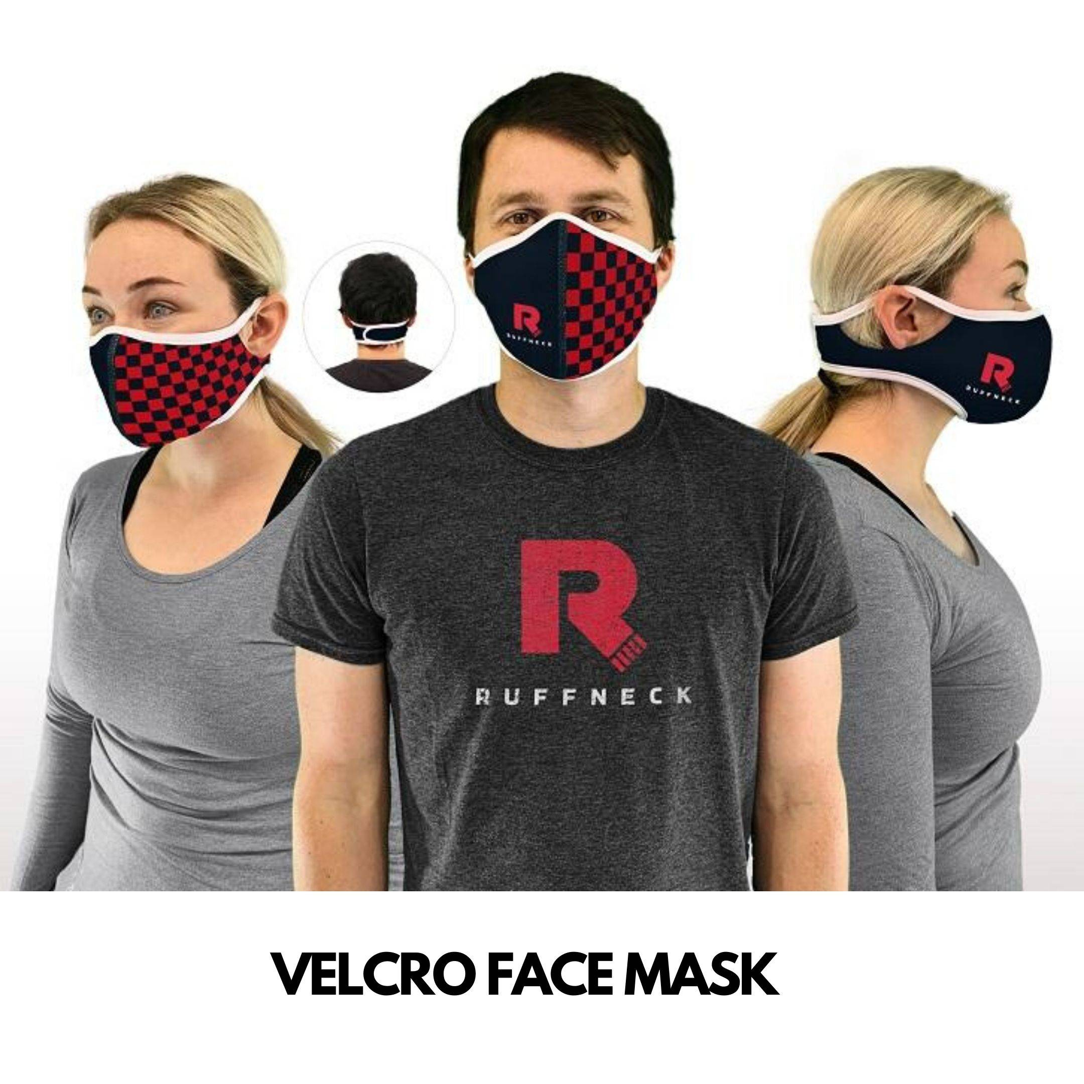 velcro face mask