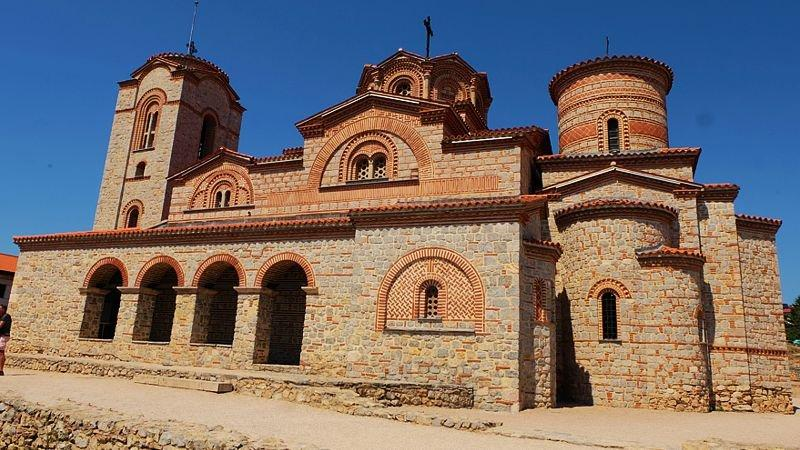 Church in Orchid, Macedonia