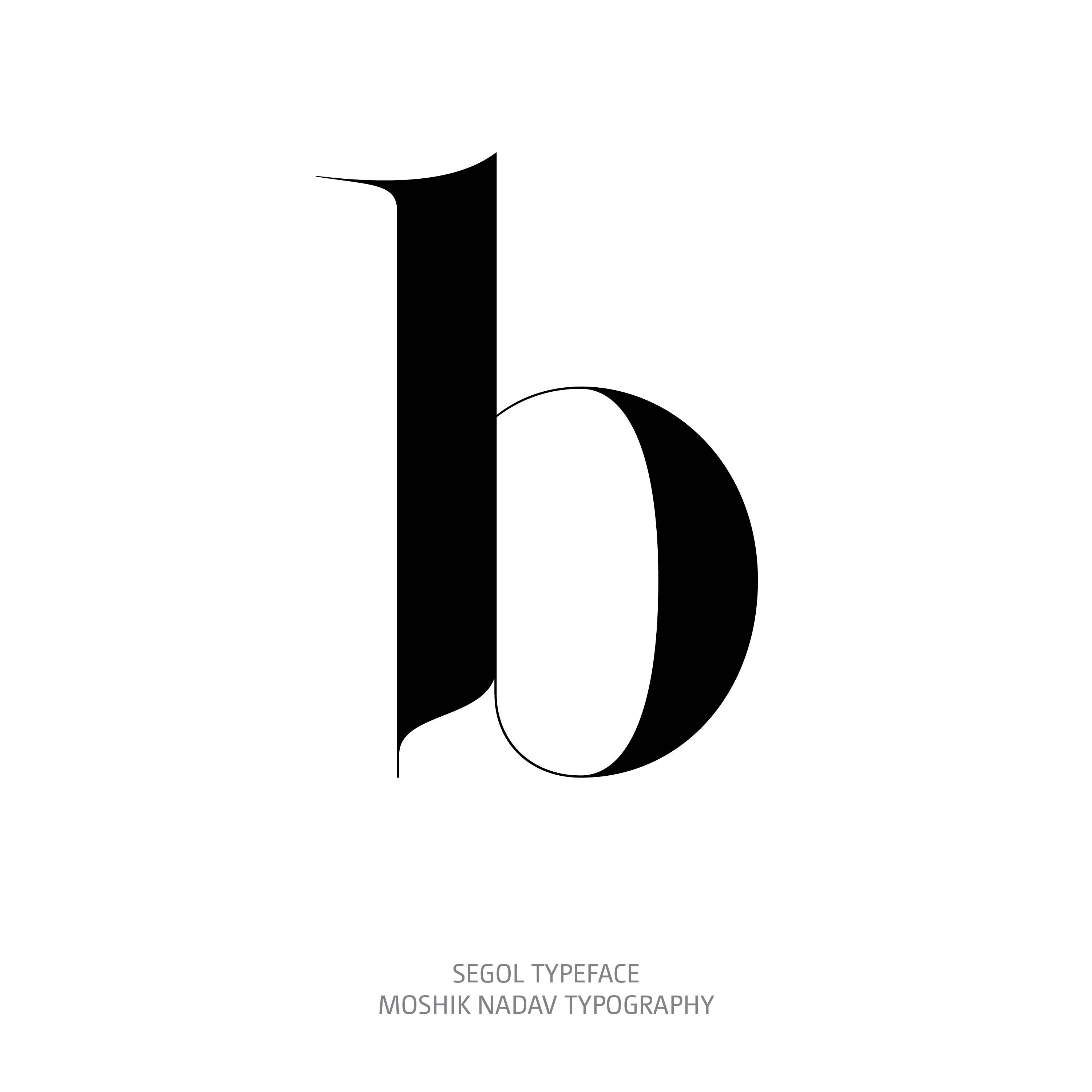 Segol Typeface b The Ultimate Font For Fashion Typography and sexy logos