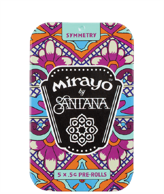 image of Mirayo hybrid cannabis tin