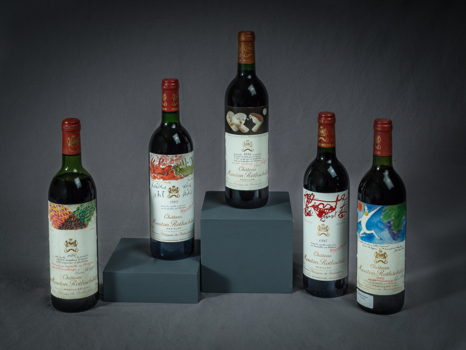 Five Spectacular Bottles of Château Mouton Rothschild