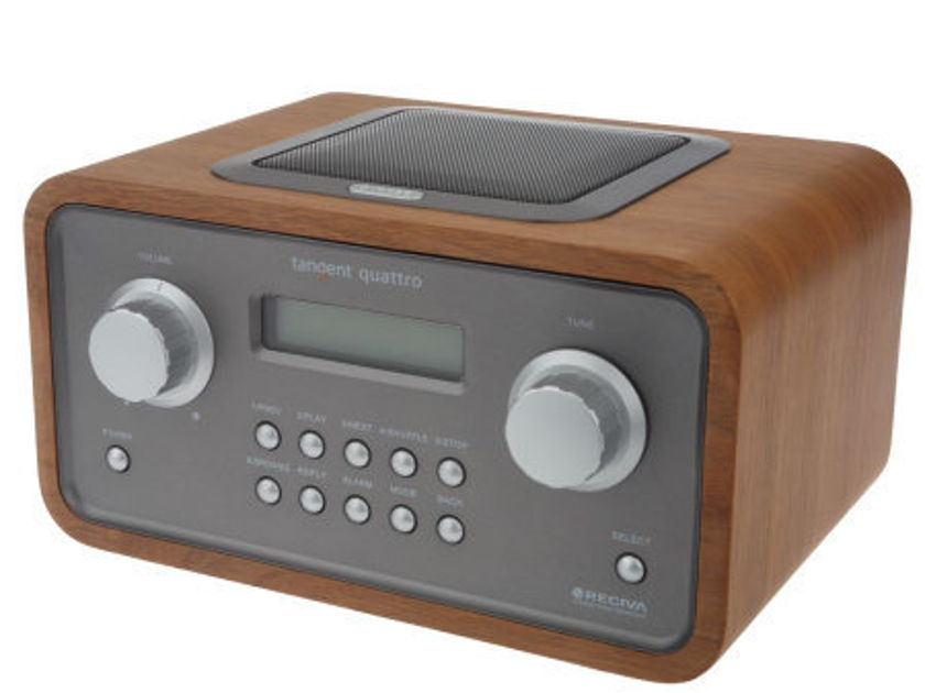 TANGENT Quattro MKII WiFi /Internet Table Radio: Brand-New-In-Box;  Full Warranty; 72% Off