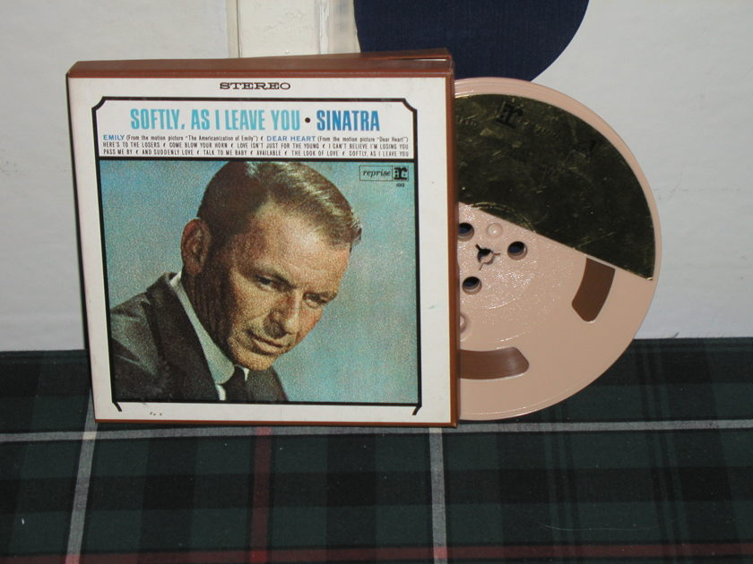 Frank Sinatra - Softly As I Leave You 7 1/2 ips Open Reel Tape
