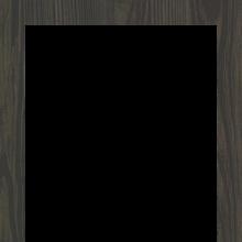 Frame template #3 (dark, walnut wood)