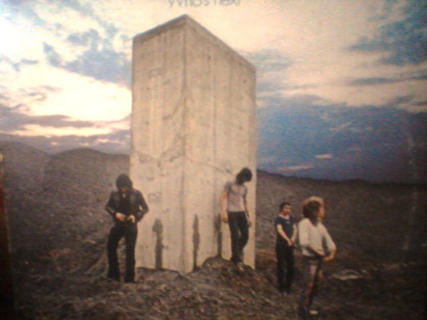the Who - Who's Next early DECCA pressing