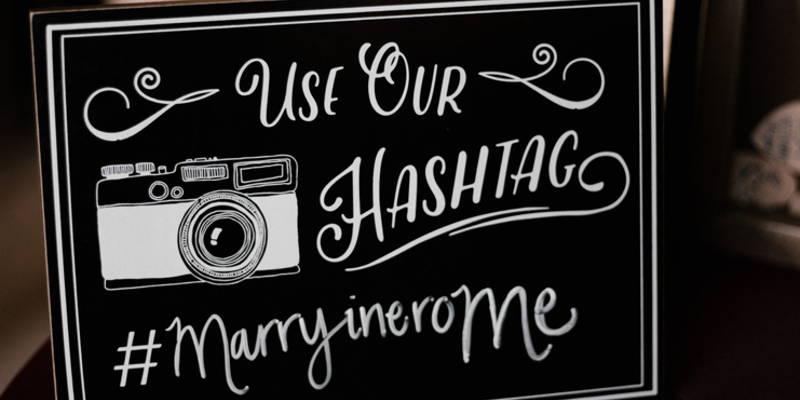 Do You Need a Wedding Hashtag?