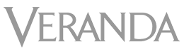 veranda logo - zebra skin rug and zebra hide