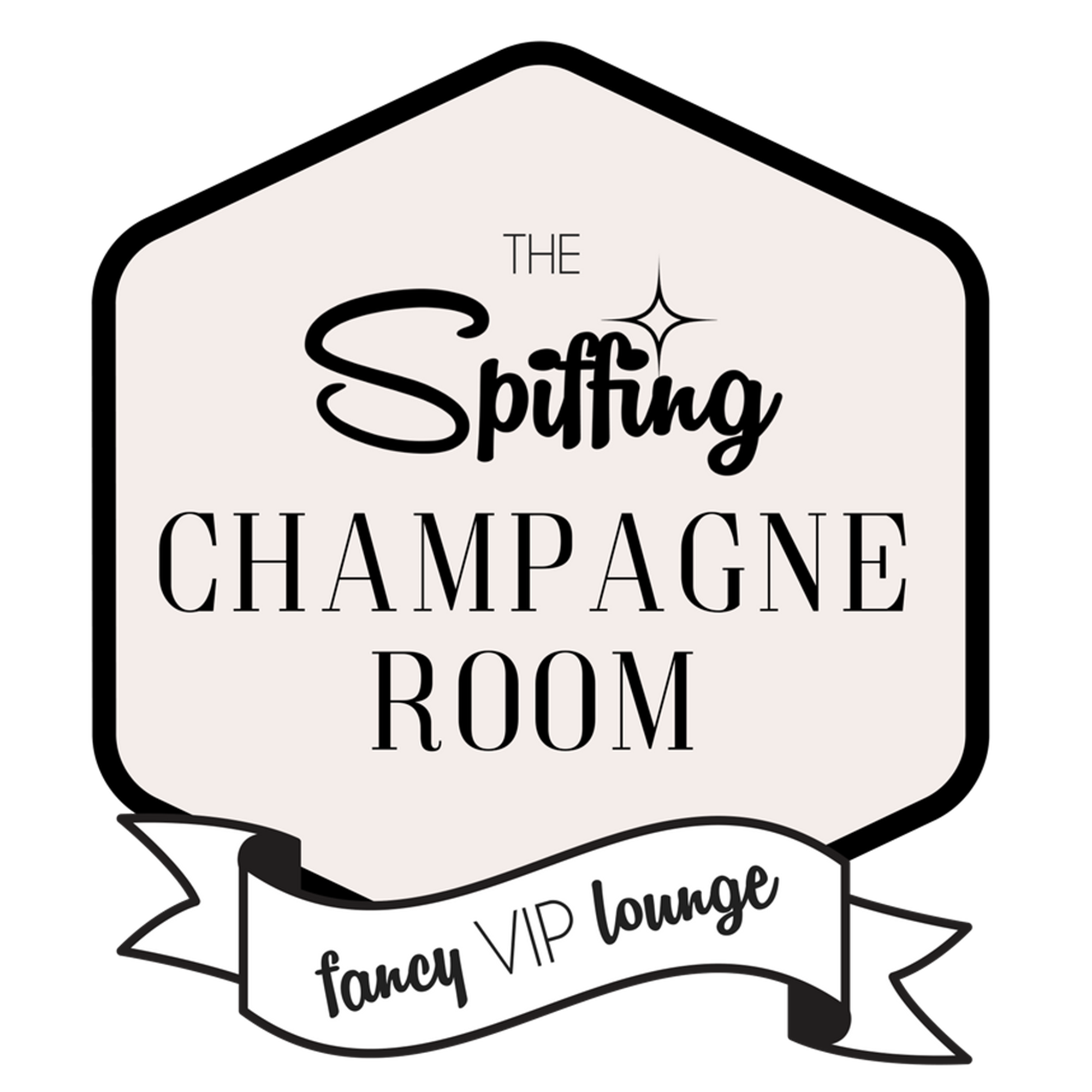The Spiffing Champagne Room Fancy VIP Lounge