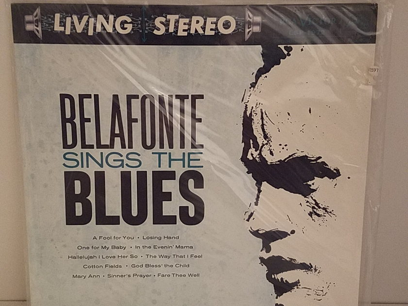 RCA LSP 1972 Harry Belafonte - Belafonte Sings the Blues Classic Records - Still Sealed