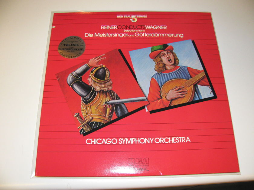 WAGNER / FRITZ REINER - CONDUCTS WAGNER RCA POINT 5 HALF SPEED MASTER