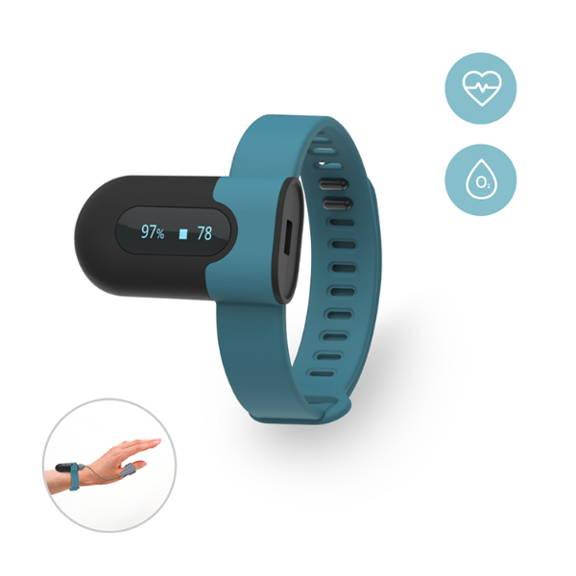 Oxymètre de pouls de poignet portable avec APP PC rapport d'alerte de Vibration pour MPOC apnée du sommeil oxygène moniteur de fréquence cardiaque poignet