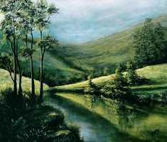 Artist Seby Augustine Paintings